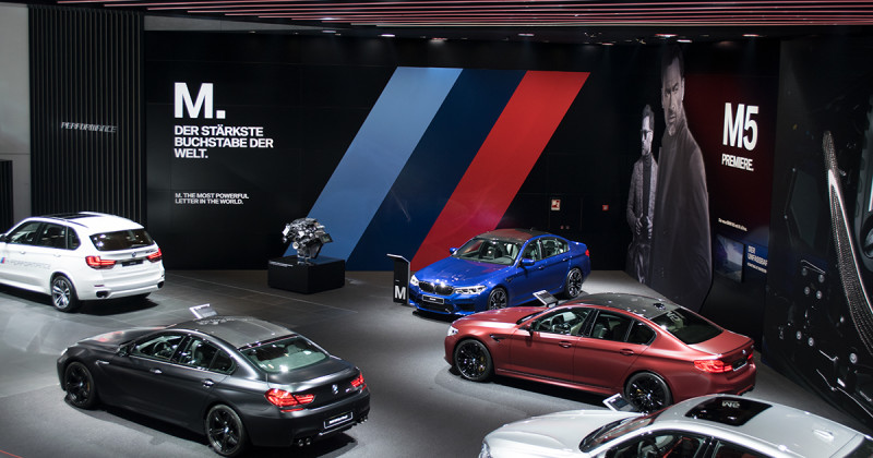 BMW at the IAA 2017: Exclusive tour of the BMW booth – part two