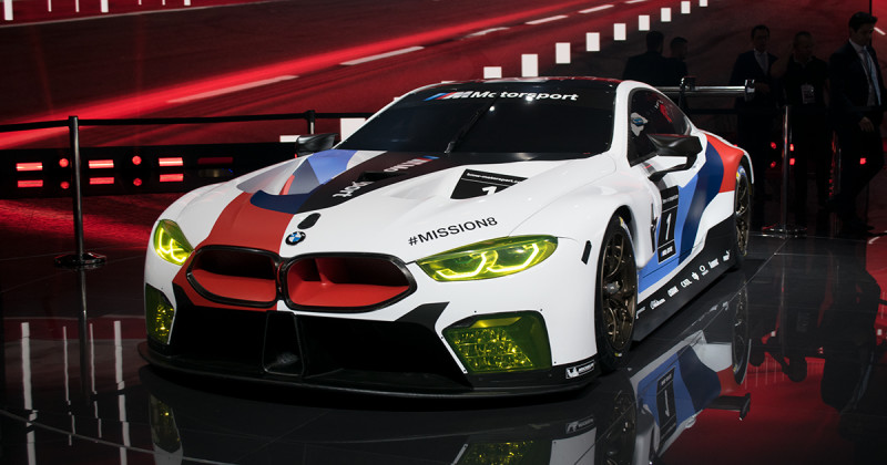 BMW M8 GTE: Live-debut and first sound-video