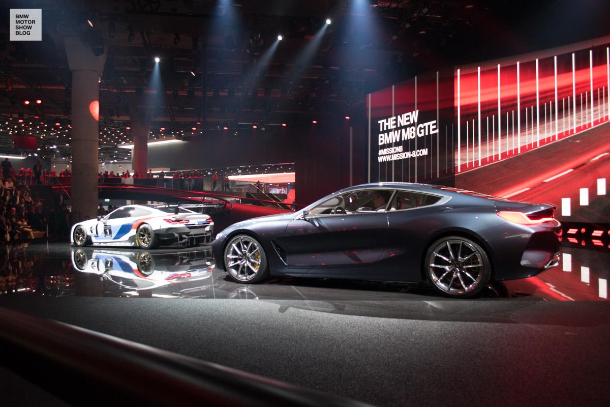Bmw M8 Gte Iaa 2017 7 Motor Show Blog