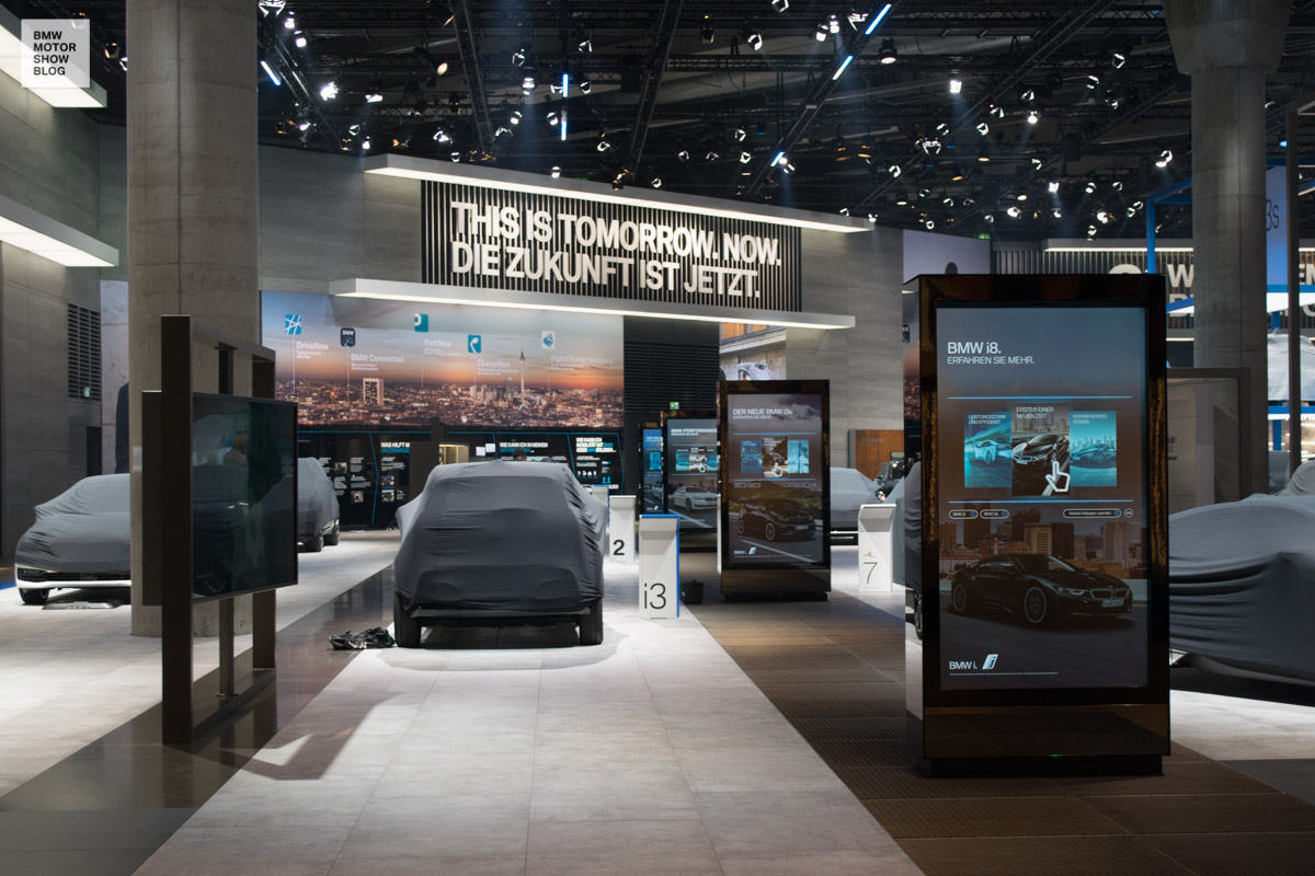 2017 - (Allemagne) Salon de Francfort / IAA Motor Show - Page 3 BMW-Messestand-IAA-2017-BMW-i-1