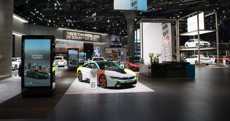 BMW at the IAA 2017: Exclusive tour of BMW's stand – Part one