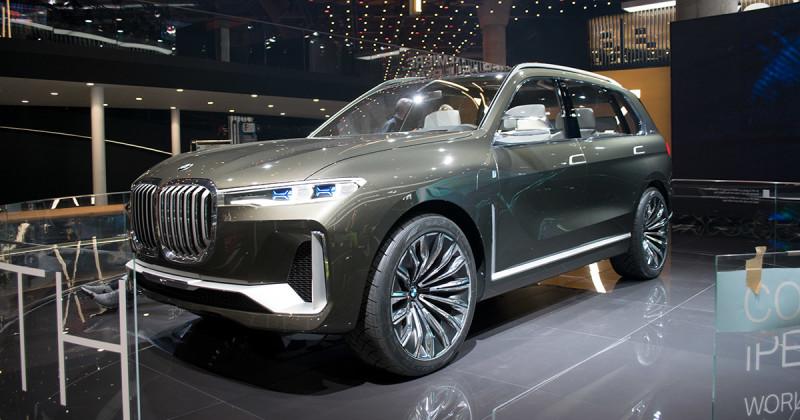 BMW X7 iPerformance – SUV-Concept live at IAA 2017