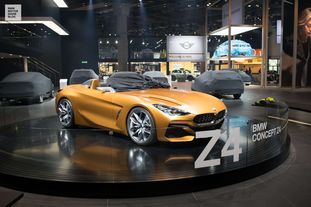 bmw z4 concept iaa 2017 roadster 8 motor show blog. Black Bedroom Furniture Sets. Home Design Ideas