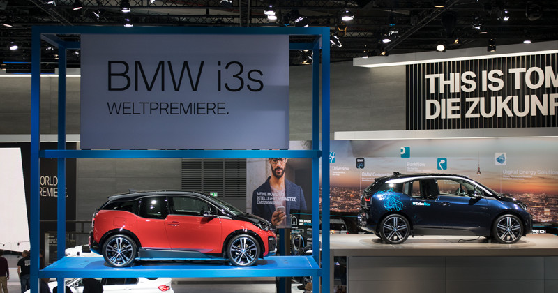 BMW i3s: The new electric sports car at the IAA 2017