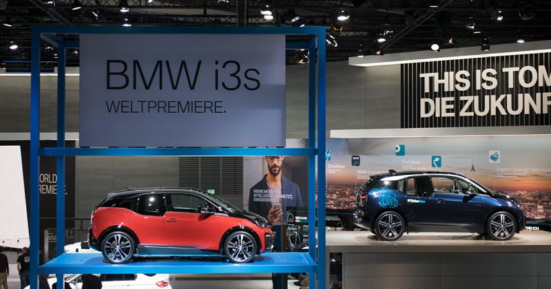 BMW i3s: Neuer Elektro-Dynamiker live auf der IAA 2017