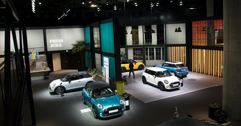 MINI at the IAA 2017: The joy of driving, smoothies and all things beard – drooping in on MINI's turf