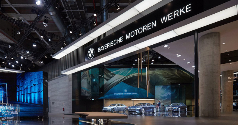 Fly over the BMW IAA area – in this 360°-video