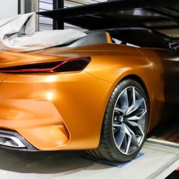 BMW auf der IAA - Vorschau - Verladung in München
