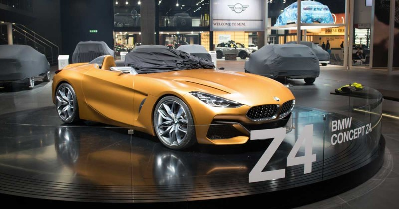 BMW Concept Z4 – Live from the IAA 2017
