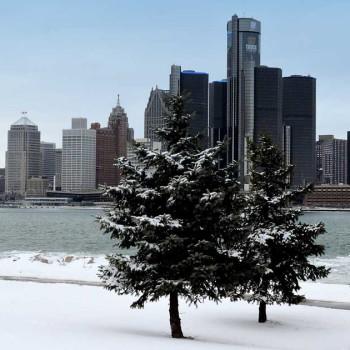 Detroit im Winter