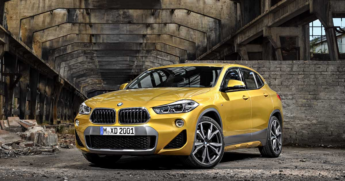 The New Bmw X2 Motor Show Blog