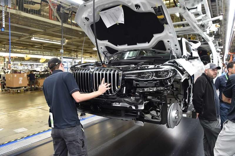BMW X7 Vorserie