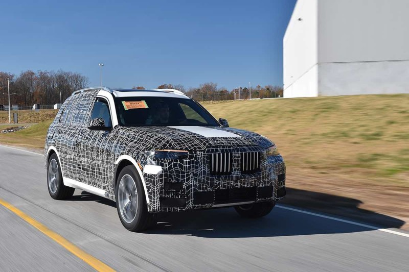 BMW X7 in Camouflage