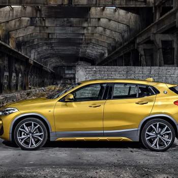 Der erste BMW X2 - Seitenansicht