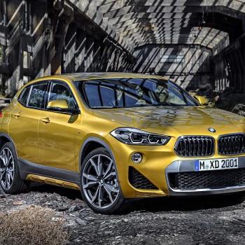 Der erste BMW X2 - Frontansicht