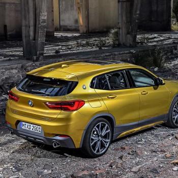 Der erste BMW X2 - Heckansicht