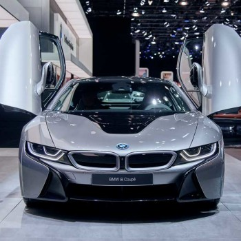 The BMW i8 Coupé