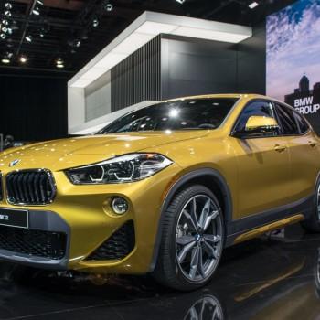 The BMW X2 at NAIAS