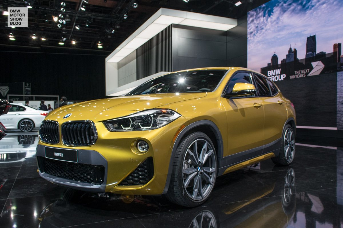 first photos bmw x2 at naias motor show blog. Black Bedroom Furniture Sets. Home Design Ideas