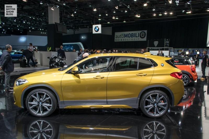 BMW X2 auf der NAIAS, Detroit 2018