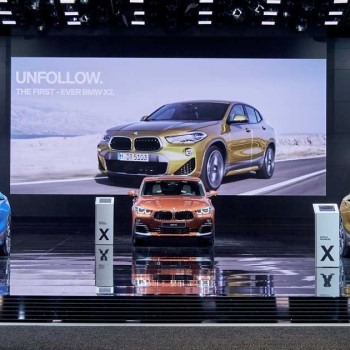 The BMW X2 at NAIAS
