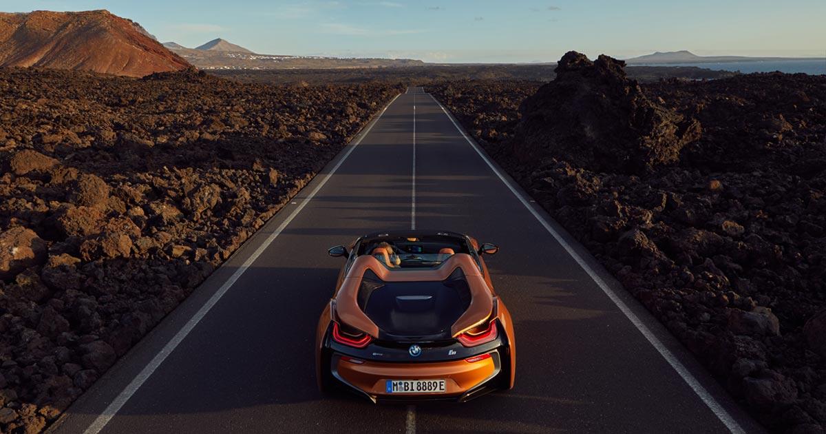 BMW i8 Roadster - Milestones