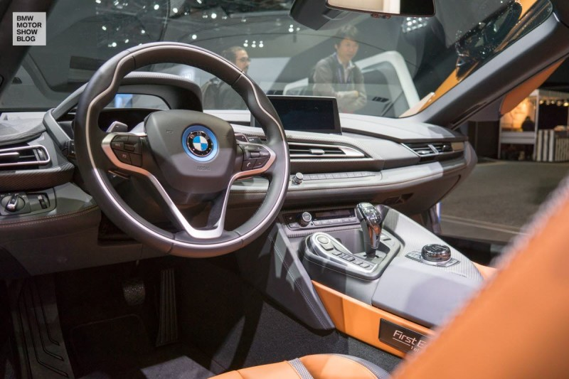 BMW i8 Roadster auf der NAIAS, Detroit