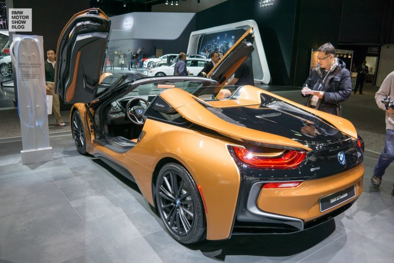 The BMW i8 Roadster at NAIAS, Detroit