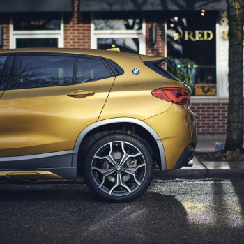 The BMW X2 in Detroit - The Red Hook