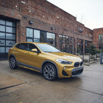 The BMW X2 in Detroit - Shinola