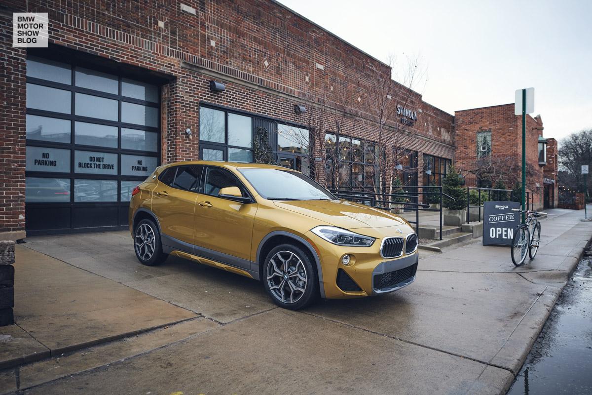 Der BMW X2 in Detroit - Shinola