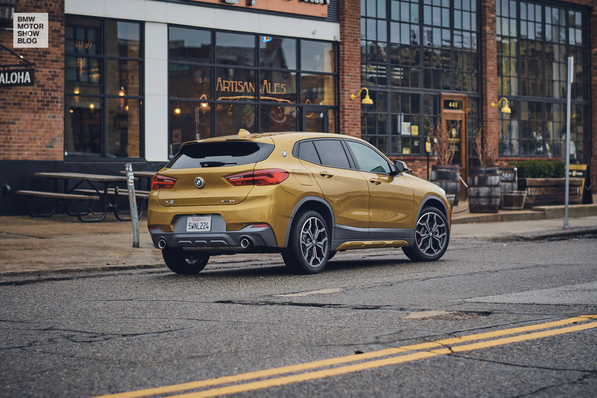 Der BMW X2 in Detroit - Shinola