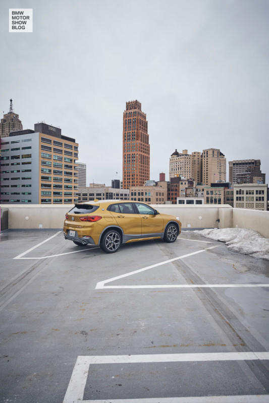BMW X2 in Detroit