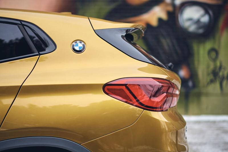 Der BMW X2 in Detroit - Hopcat