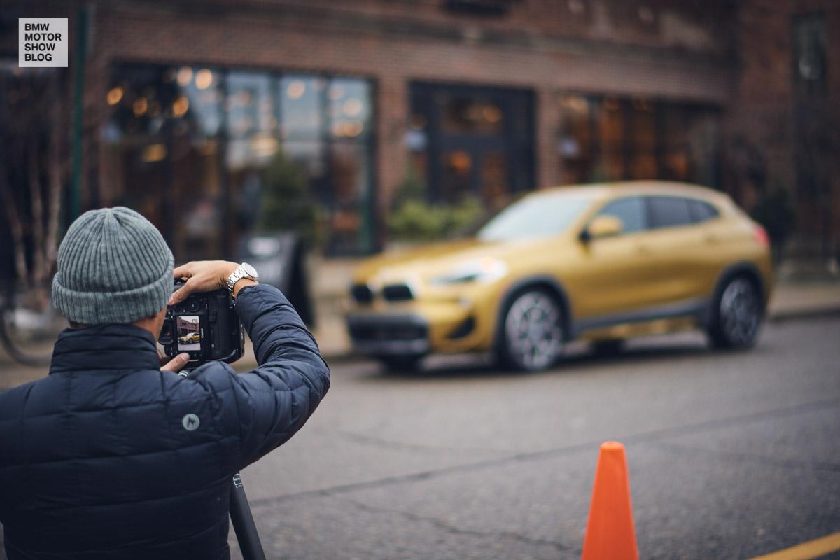 The BMW X2 in Detroit - Shinola