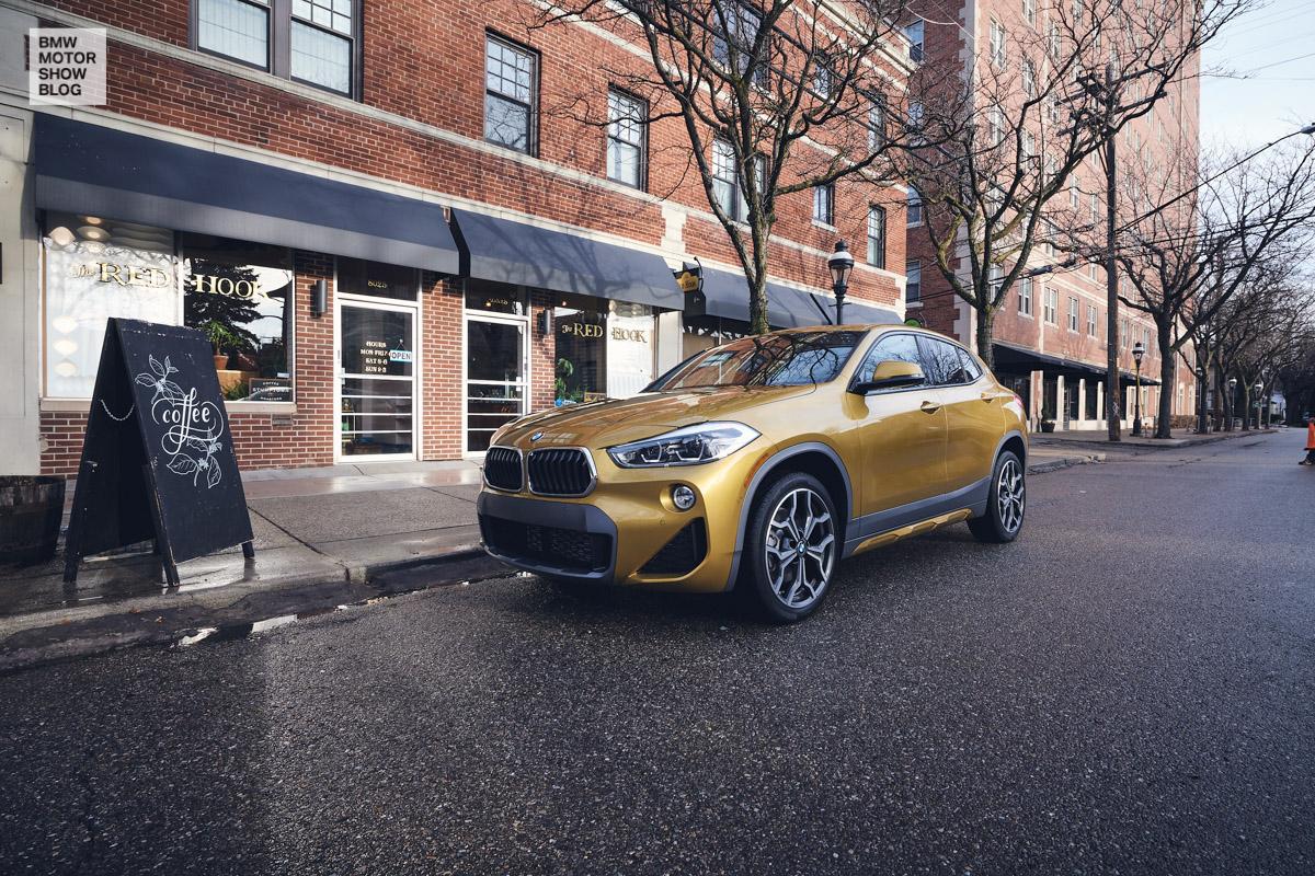 Der BMW X2 in Detroit - The Red Hook