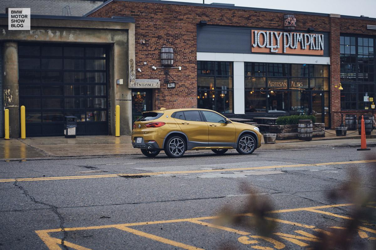 Der BMW X2 in Detroit - Jolly Pumpkin