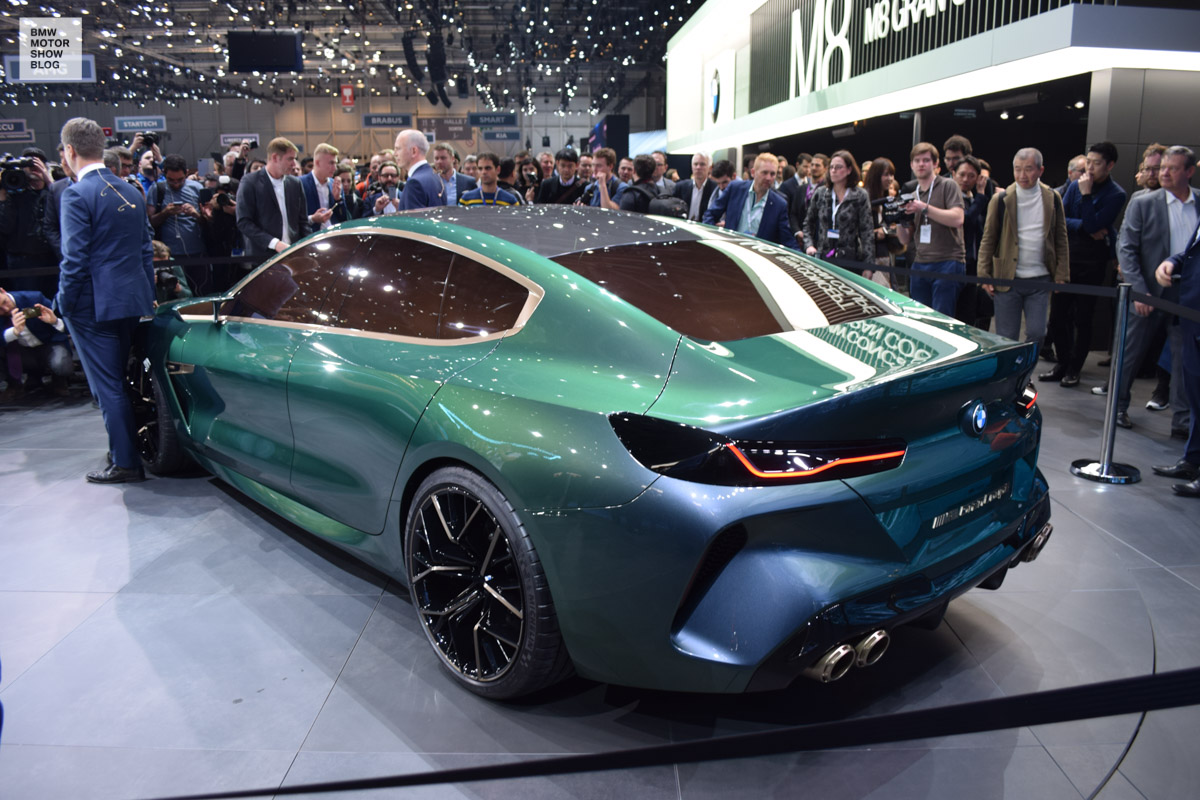 bmw m8 gran coupe concept debut live pics from geneva. Black Bedroom Furniture Sets. Home Design Ideas