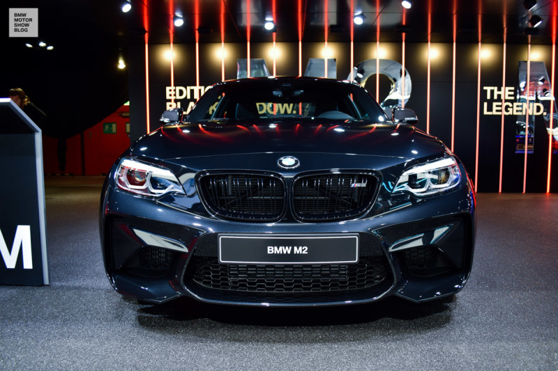 Bmw M2 Edition Dark Shadow Special Edition Live In Geneva